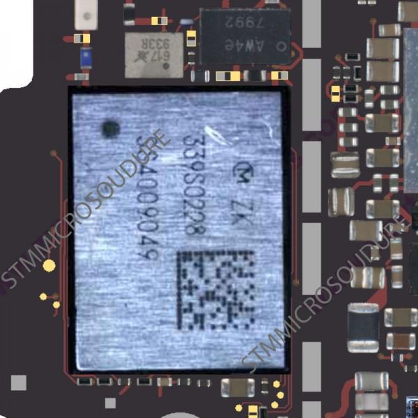 Réparation problème GPS carte mère iphone 6