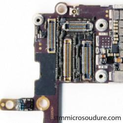 Réparation problème GPS sur carte mère iphone 6s
