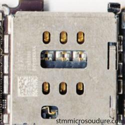 Réparation lecteur SIM iPhone 6s