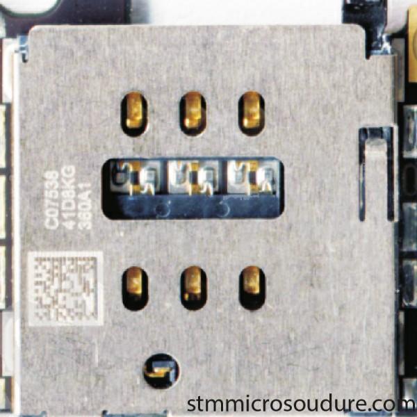 Réparation lecteur SIM iPhone 6s plus