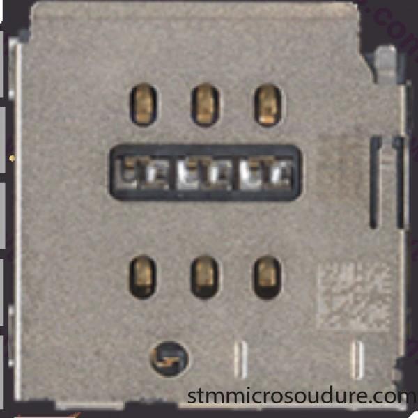 Réparation lecteur SIM iPhone 7