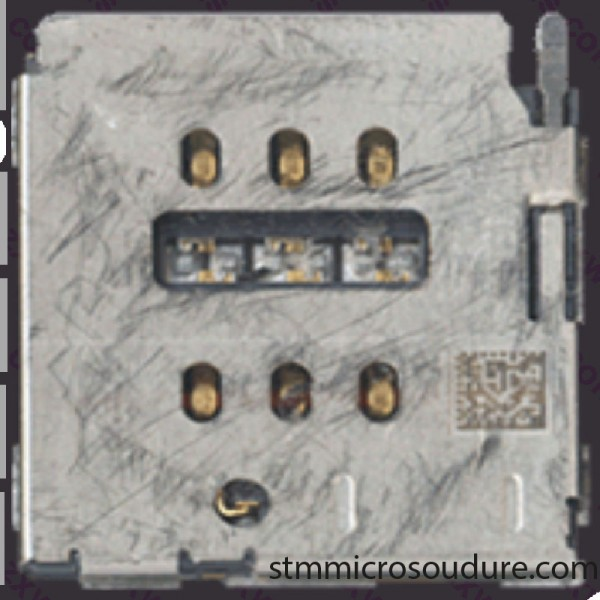 Réparation lecteur SIM iPhone 8 plus