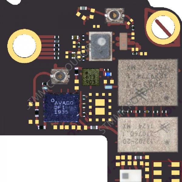 Réparation GPS iPhone 7