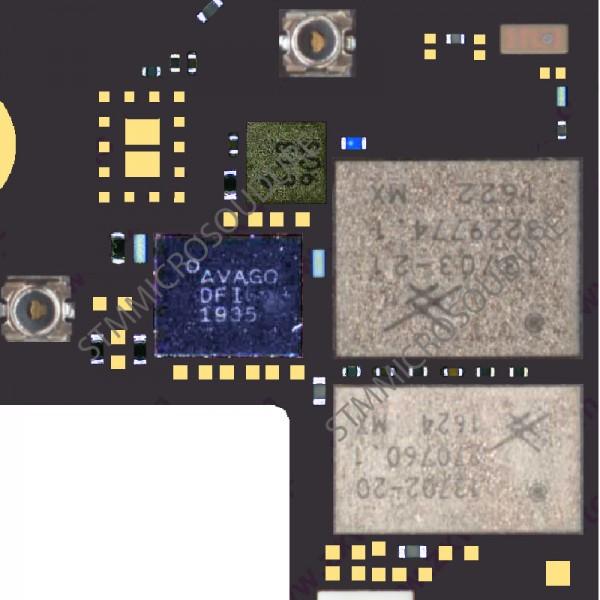 Réparation GPS iPhone 7 plus