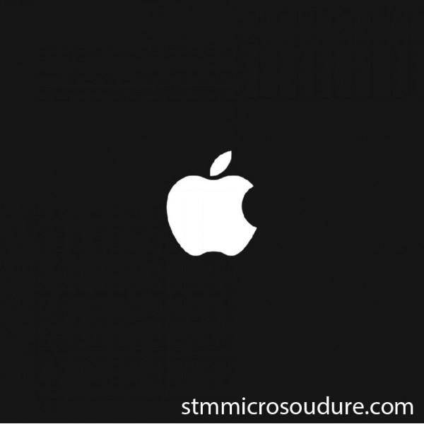Réparation problème blocage sur la pomme iphone 7