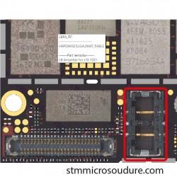 Réparation connecteur FPC batterie iPhone 7