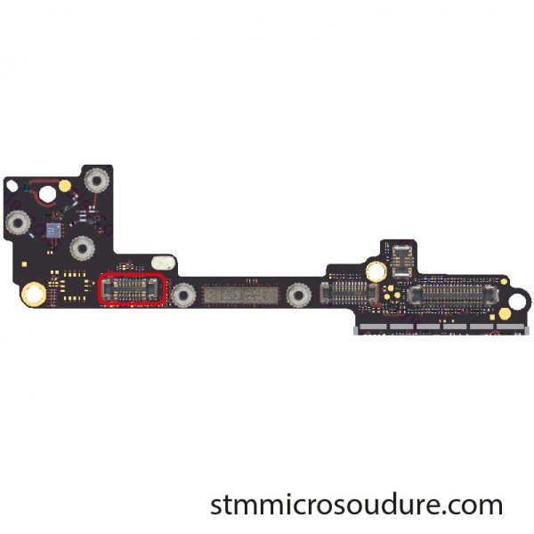 Réparation connecteur FPC power allumage iPhone 7