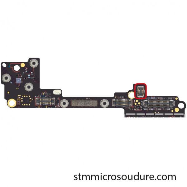 Réparation connecteur FPC GPS phone 7
