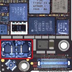 Réparation connecteur FPC batterie iPhone 6 plus