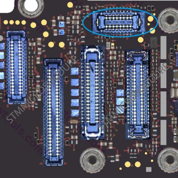 Réparation connecteur FPC home iPhone 6 plus