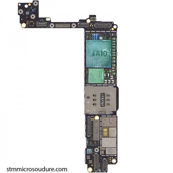 Réparation oxydation carte mère iPhone 7