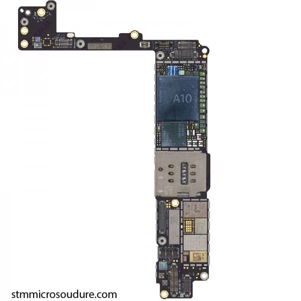 Réparation oxydation carte mère iPhone 7 plus