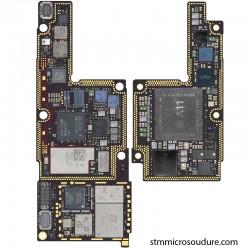Réparation oxydation carte mère iPhone X