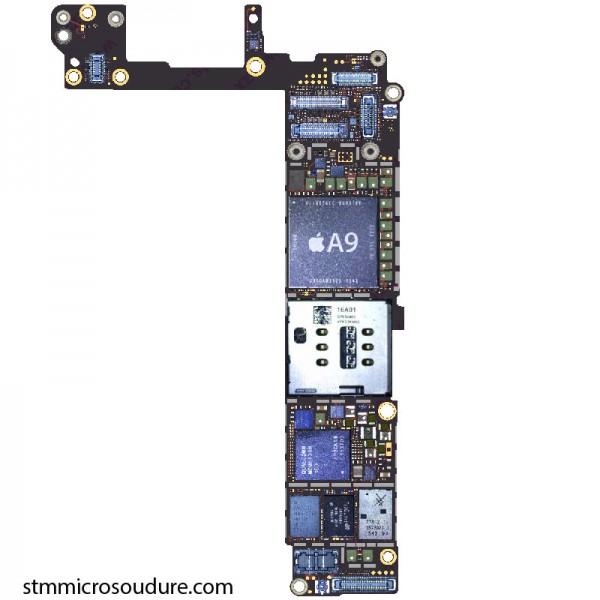 carte mère iphone 6s Réparation problème chauffe carte mère iPhone 6s