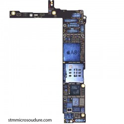 Réparation chauffe importante carte mère iPhone 6 plus