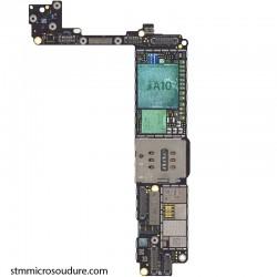 Réparation chauffe importante carte mère iPhone 7