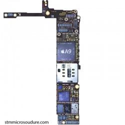 Réparation erreur 1 ou -1  carte mère iPhone 6s plus