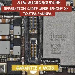 Réparation carte mère iphone Xr problème tactile